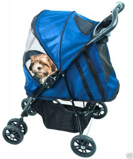 Pet Gear Happy Trails Pet Stroller for Dog Cat PG8100ST