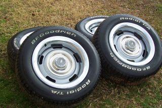 Chevrolet Corvette Rally Wheels BF Goodrich Radial TA Tires 215 60r15