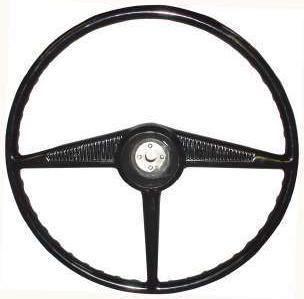 New Black Ebonite Steering Wheel 1953 55 Ford Pickup