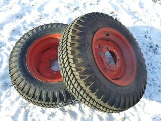 Case 195 Tractor Good Year 8 16 Rear Tires Rims