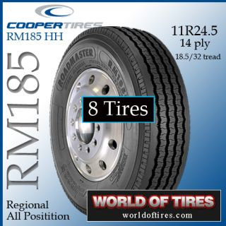 Tires Roadmaster RM185 11R24 5 Semi Truck Tire 24 5 Tires 11245
