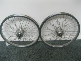 Of Vintage 20 Old School BMX Nos Peregrine hubs with Araya Chrome Rims