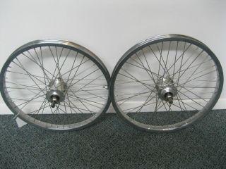 Of Vintage 20 Old School BMX Nos Peregrine hubs with Araya Chrome Rims