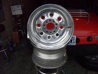 weld drag wheels draglite 15x8 gasser mags Dodge ford Chevy gm ratrod