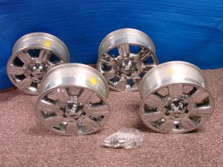 10 11 Ford F150 Factory Chrome Clad Wheel OEM Rims 3785 AL3J 1007 CA