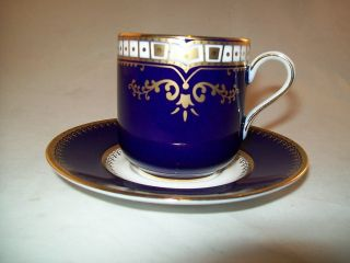 White Star Line Titanic First Class Cup and Saucer Titanic Artifact