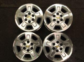 1500 Silverado Tahoe Avalanche Factory Alum Wheels Rims OE