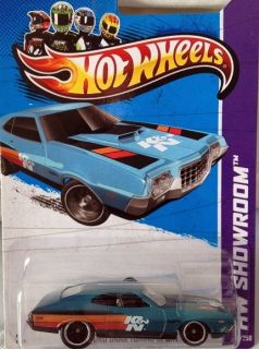 2013 Hot Wheels Super Treasure Hunt  72 Ford Gran Torino Sport   Fair