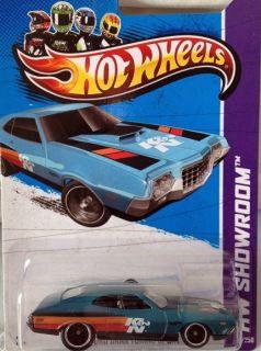 2013 Hot Wheels Super Treasure Hunt  72 Ford Gran Torino Sport   Fair