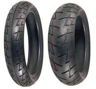 New Shinko 009 Motorcycle Tire Set 120 60 17 190 50 17