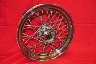 Harley Panhead FLH Shovelhead Rear Rim Wheel Chrome
