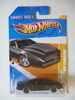 Hot Wheels 17 247 Knight Rider K I T T diecast toy car MOC 2011 KITT