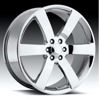 22 inch Chevy Trailblazer SS Factory Reproduction Replica Wheels