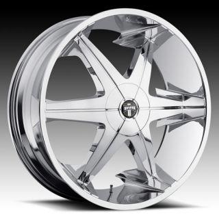 lll 3 Wheel Set 26x9 5 Chrome Rims for rwd 5 6 Lug Vehicles