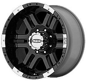 American Racing 9518964330 Moto Metal Series MO951 Black Wheel