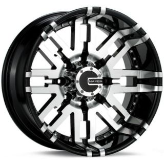 Dodge RAM F150 Durango Dakota 20 Wheels Rims Mamba M2