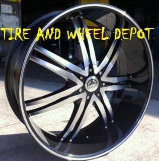 24 INCH B14 MB RIMS AND TIRES CHRYSLER 300 CHARGER MAGNUM CHALLENGER