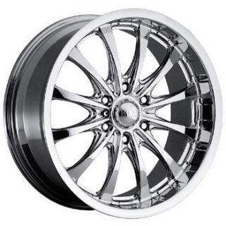 Boss Motorsports Series 307 Chrome Wheels Rims Chevy GMC Truck