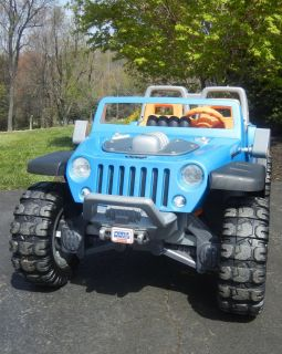 Fisher Price Power Wheels Hurricane Jeep
