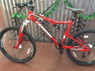2011 Cannondale RZ120 Four Large Full Suspension Mountain Bike