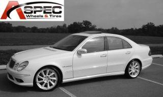 18 Hyp Silver CLK AMG Wheels Mercedes C230 CLK 320 C55