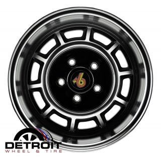 Buick Grand National Factory Wheel Rim BUICKGN15X7 Machined Black 1982