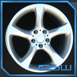 Silver Wheels Rims for BMW 3 Series 325 328 335 08 09 10 11 12