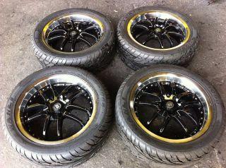 17 Motegi 240 Rims Tires Cadillac Impala Monte Carlo