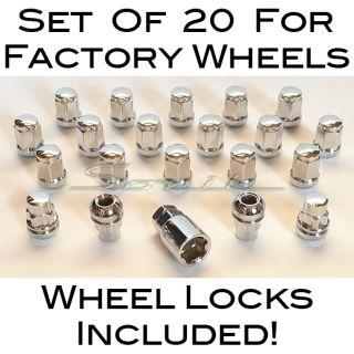 Acura Honda Wheel Locks Lug Nuts Factory Wheels