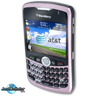 NEW RIM BlackBerry Curve 8310 Pink AT T Mobile Quadband GSM GPS Phone