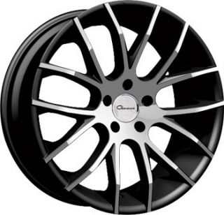 20 Giovanna Kilis Black Rims Wheels BMW 328I 330I 335CI 06 & Up