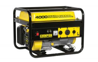 3500/ 4000 Watt Portable Gas Generator( No Wheels/ Not Carb Compliant