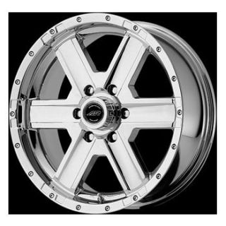 18x8 American Racing Element Chrome Rims