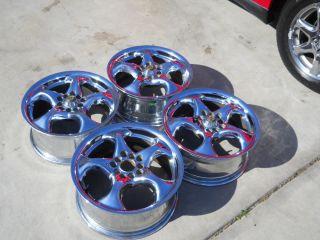 GM Rims Cadillac STS Allante Chrome Wheels 16x7 Helo Center Cap
