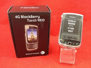 UNLOCKED RIM Blackberry Torch 9810 Zinc 4G AT T GSM SmartPhone OS7