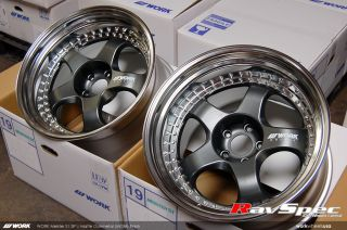 Work Meister S1 3P JDM Wheels 19x11 0 and 19x12 5 for Wide Body 350Z