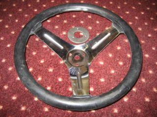 12 Go Cart Steering Wheel and Mounting Flange Go Kart