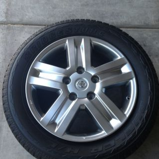 07 2012 Toyota Tundra Wheel Tire Package