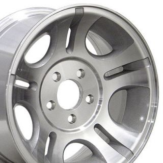 15 Rim Fits Ranger® 3431 Wheels Machined Silver 15x7