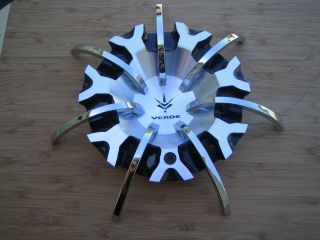 V29 Calibre Machine Black Face Wheel Rim Center Cap C V29 BM