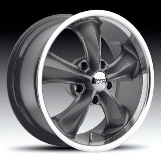 18inch Legend 5 Lug 5x4 5 Gray One Single Replacement Wheel Rim
