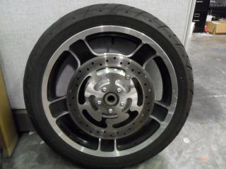 Davidson 2010 Later Front Touring Rim with Tire for ABS Models