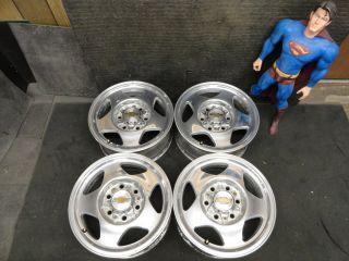 Silverado RARE ALCOA Sierra Suburban Wheels 4x4 Tahoe Rims Factory OEM
