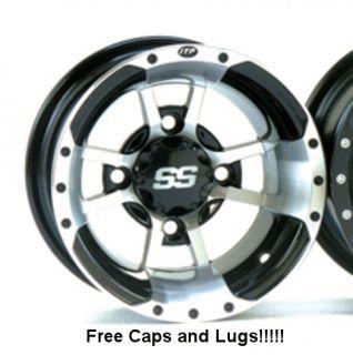 ITP SS112 Sport Wheels Rims Raptor Banshee YFZ 450