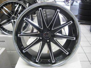 20 Blaque Diamond Dust Rim Tire Mercedes Benz BMW Lexus Lexani asanti