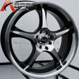 17x7 adr Phantom Wheels 4x100 114 3 Rims Fits Accord Civic Cobalt