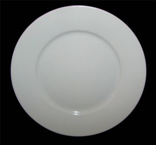 IKEA 365 All White Dinner Plate s 1 1 2 Rim Susan Pryke Design 13286
