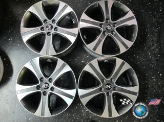 Four 10 13 Hyundai Sonata Factory 17 Wheels Rims 52910 3x550