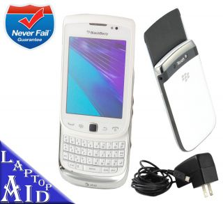 Unlocked Rim Blackberry Torch 9810 At t White Smartphone 8GB Great