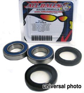 KLX400 KLX 400 DRZ400 DRZ 400 Rear Wheel Bearings 00 09